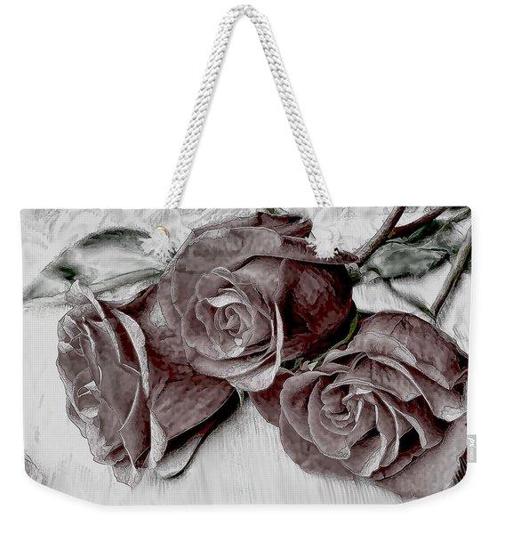 Faded Love Weekender Tote Bag