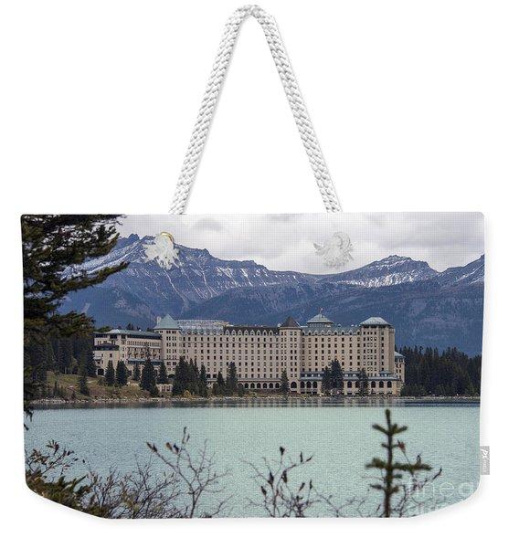 Fairmont Cheteau Lake Louise Weekender Tote Bag