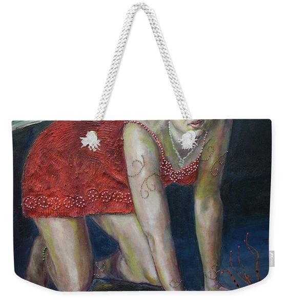 Fairy Faces Bugaboo Weekender Tote Bag