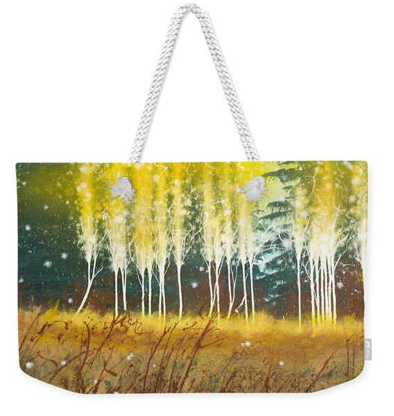 Fairy Trees Weekender Tote Bag