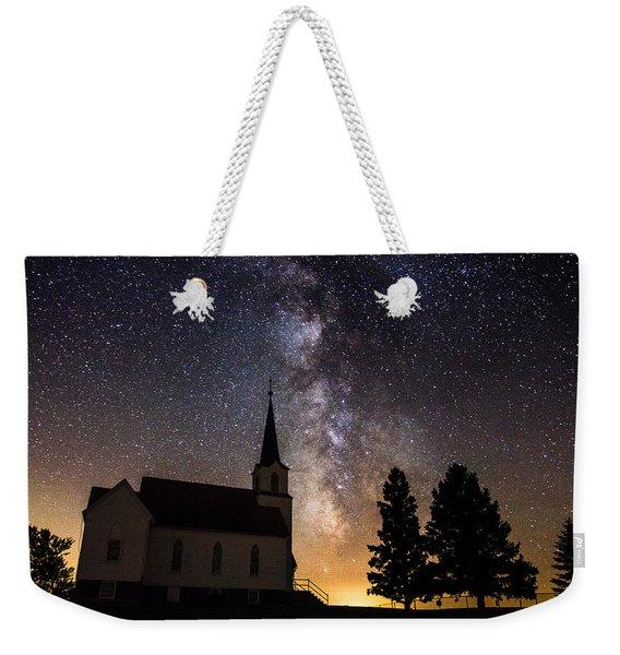 Faith Weekender Tote Bag