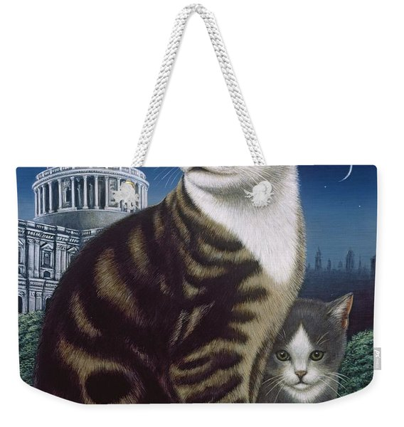 Faith, The St. Paul's Cat Weekender Tote Bag