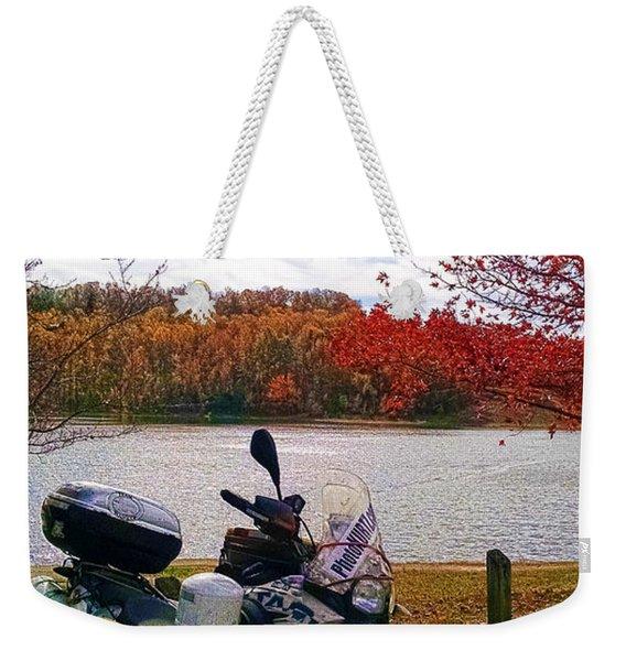 Fall At Fern Clyffe Weekender Tote Bag