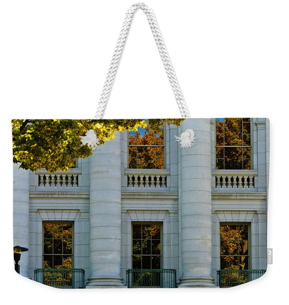 Fall At The Capitol Weekender Tote Bag