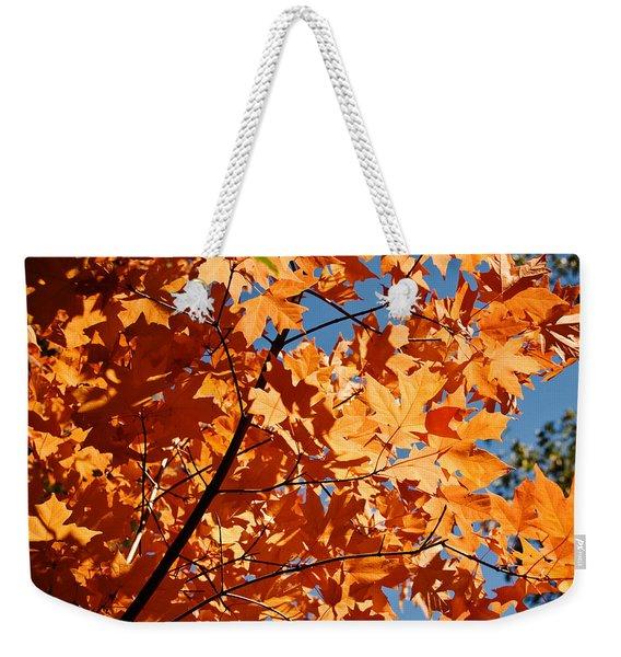 Fall Colors 2 Weekender Tote Bag