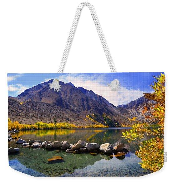 Fall Colors At Convict Lake  Weekender Tote Bag