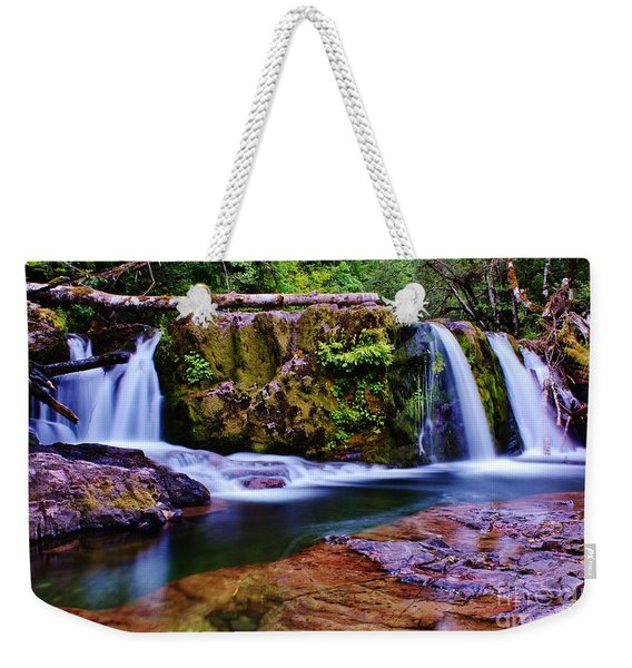 Fall Creek Oregon 3 Weekender Tote Bag