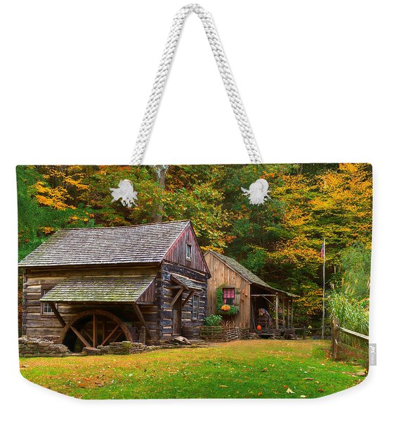 Fall Down On The Farm Weekender Tote Bag
