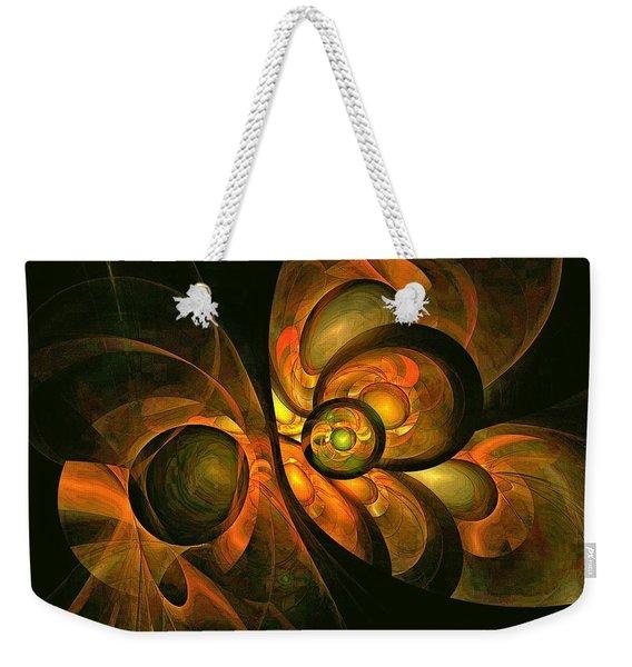 Fall Equinox Weekender Tote Bag