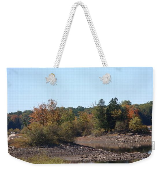 Fall Escape In New England Weekender Tote Bag