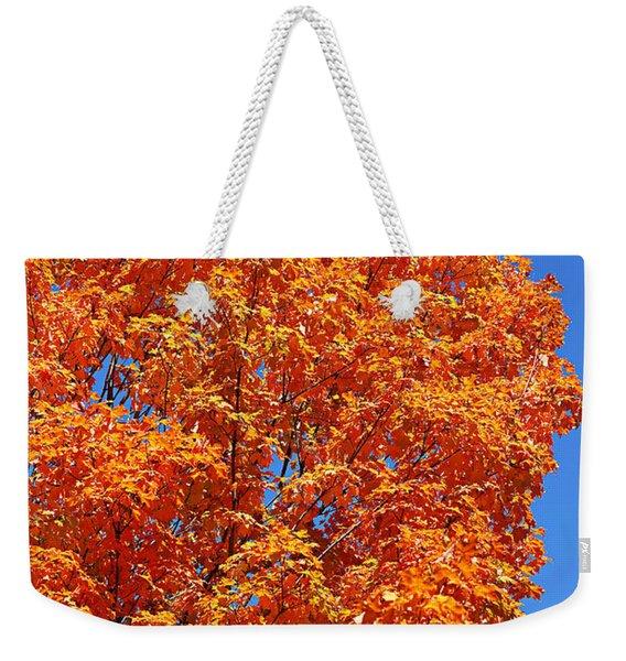Fall Foliage Colors 18 Weekender Tote Bag