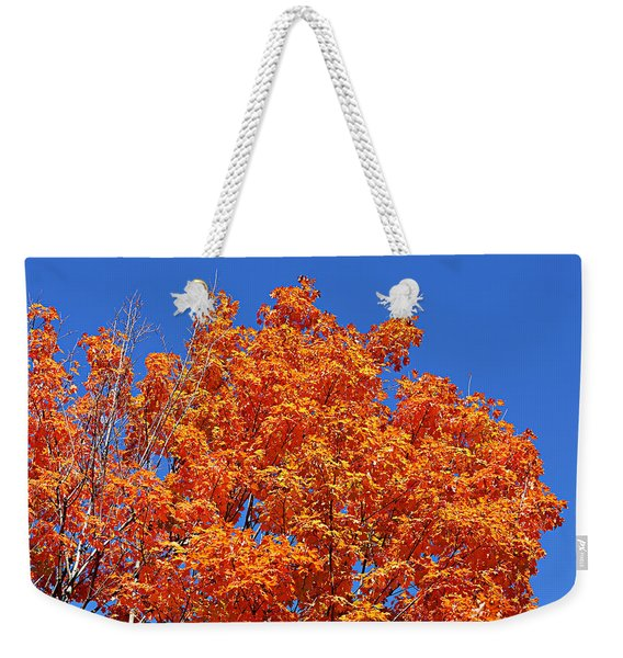 Fall Foliage Colors 19 Weekender Tote Bag