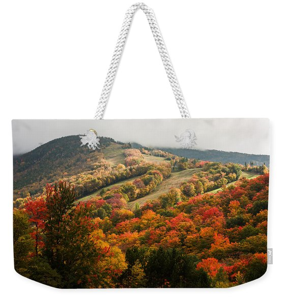 Fall Foliage On Canon Mountain Nh Weekender Tote Bag