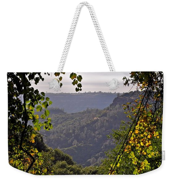 Fall Frames The Canyon Weekender Tote Bag