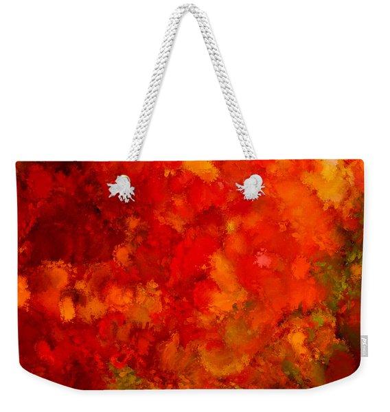 Fall Frolic Weekender Tote Bag