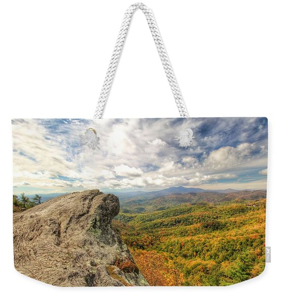Fall From The Blowing Rock Weekender Tote Bag