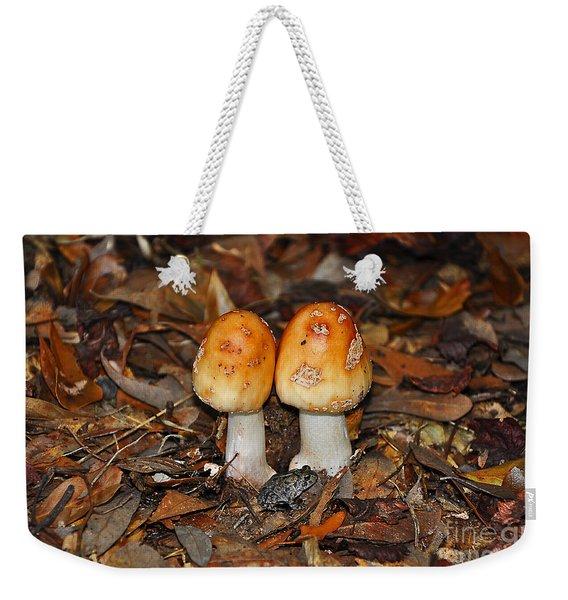 Fall Fungi Weekender Tote Bag