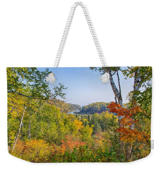 Fall In Gooseberry State Park Weekender Tote Bag
