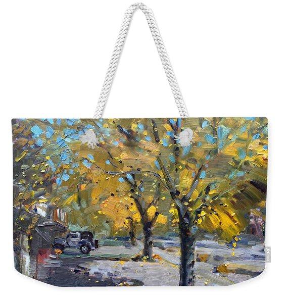 Fall In Silverado Dr  Weekender Tote Bag