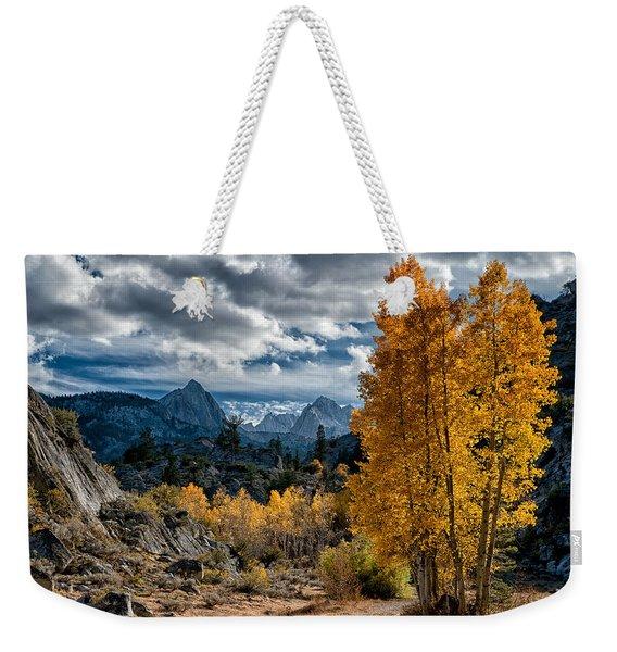 Fall In The Eastern Sierra Weekender Tote Bag