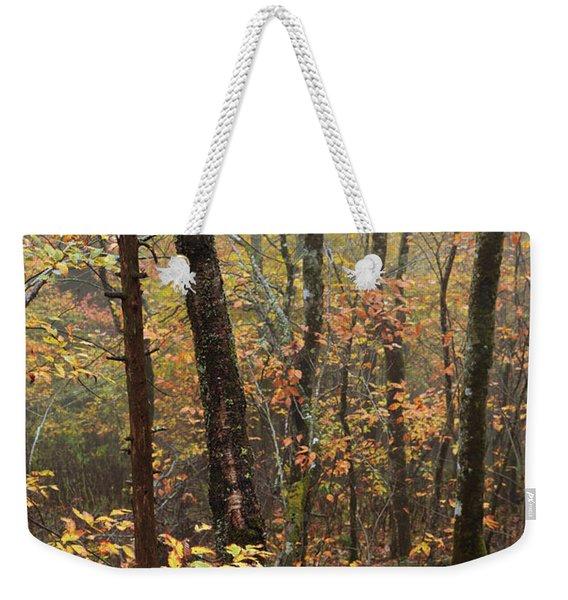 Fall Mist Weekender Tote Bag