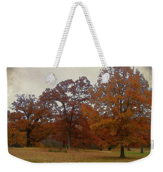 Fall On Antioch Road Weekender Tote Bag