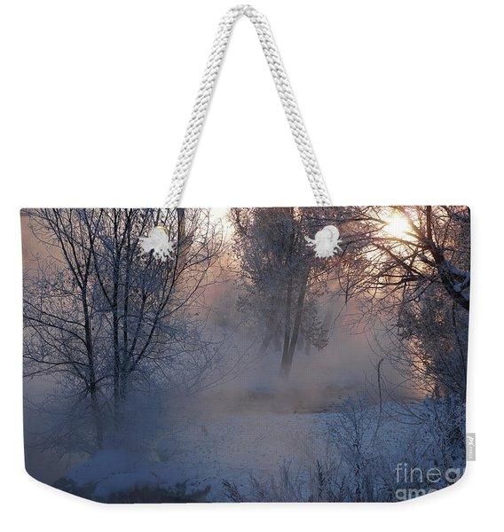 Fall River Steam Weekender Tote Bag