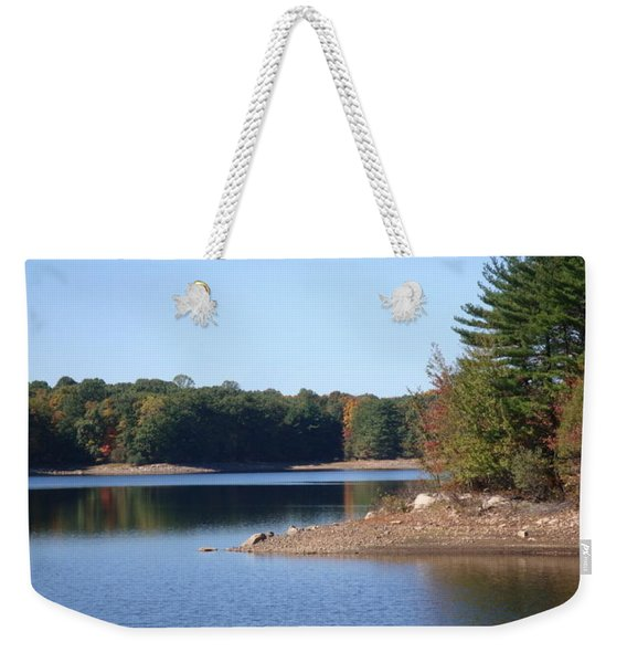 Fall Serenity Weekender Tote Bag