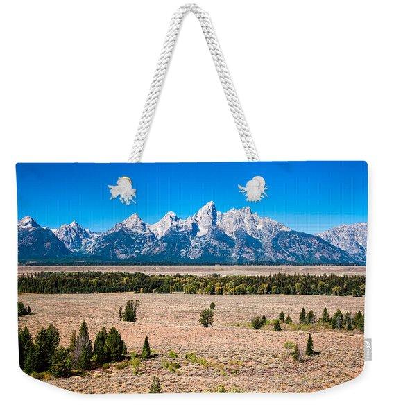 Fall Tetons   Weekender Tote Bag