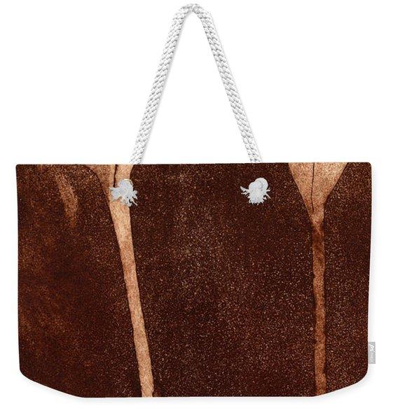 Fall Time - Autumn Crocus Meadow Safran Weekender Tote Bag