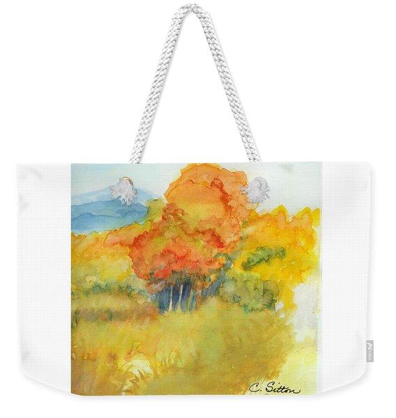 Fall Trees 2 Weekender Tote Bag