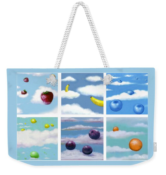 Falling Fruit Group Weekender Tote Bag