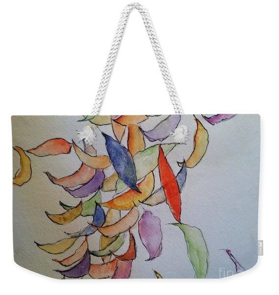 Falling Into Place Weekender Tote Bag
