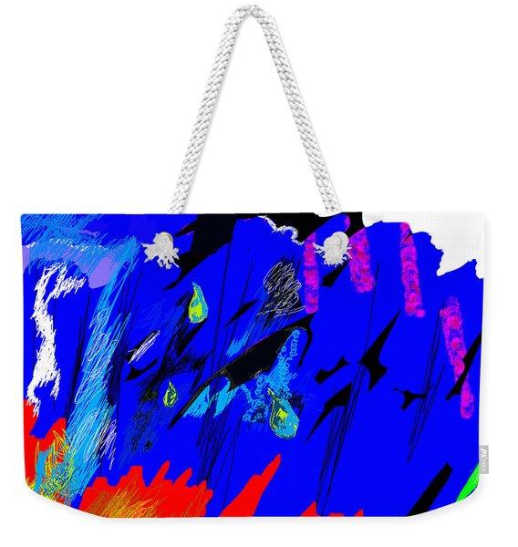 Falling Through Lightness  Weekender Tote Bag