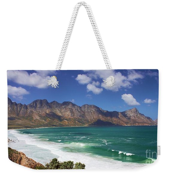 Weekender Tote Bag featuring the photograph False Bay Drive by Jeremy Hayden