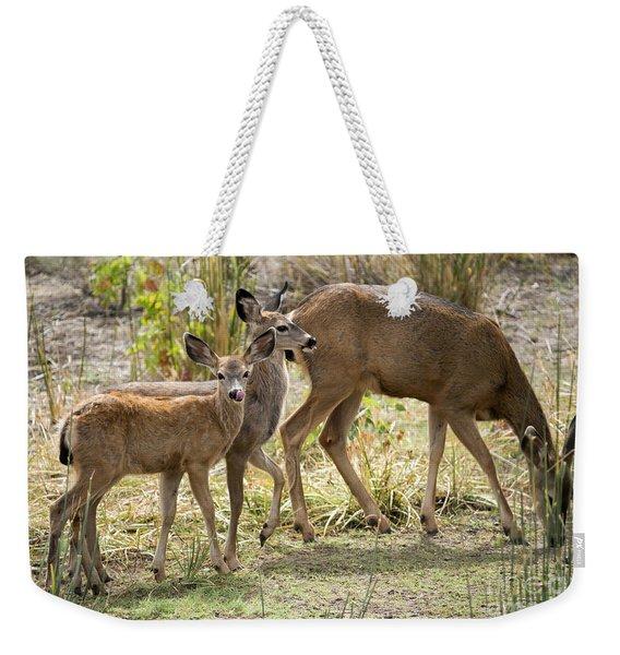 Family Affair Weekender Tote Bag