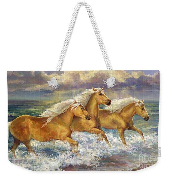 Fantasea Ponies Weekender Tote Bag