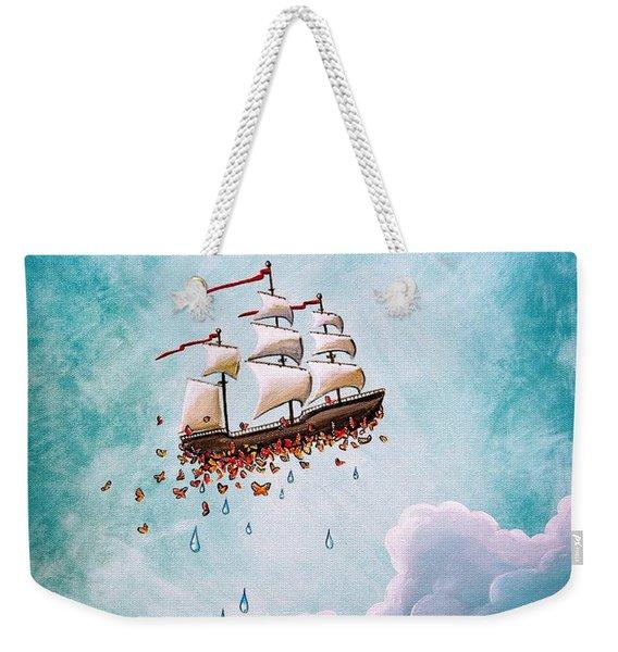 Fantastic Voyage Weekender Tote Bag