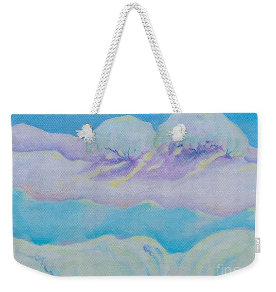 Fantasy Snowscape Weekender Tote Bag