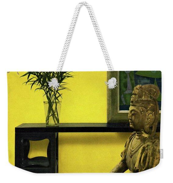 Far-east Influenced Decoration Weekender Tote Bag
