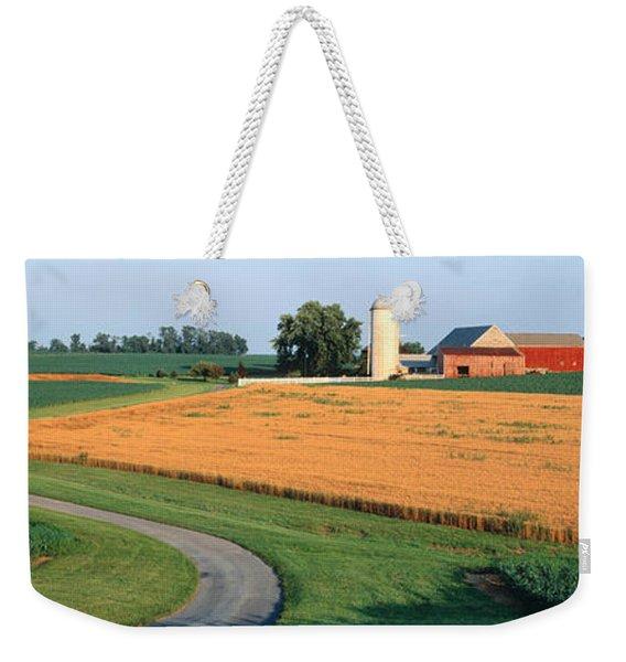 Farm Nr Mountville Lancaster Co Pa Usa Weekender Tote Bag