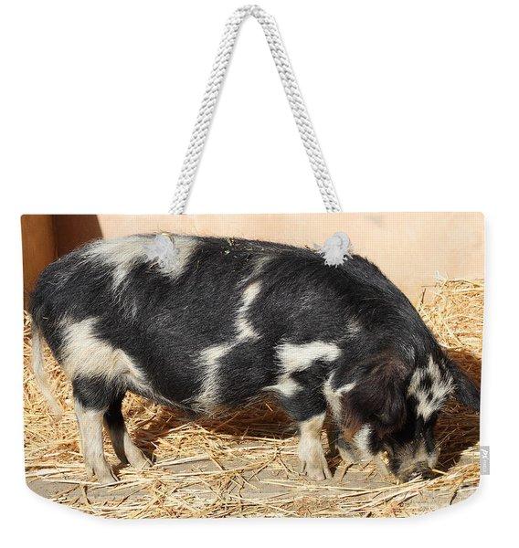 Farm Pig 7d27356 Weekender Tote Bag