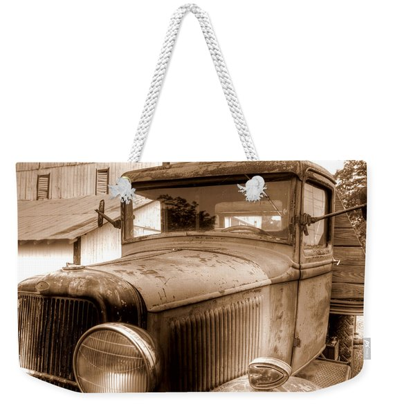 Farmer's Best Friend Weekender Tote Bag