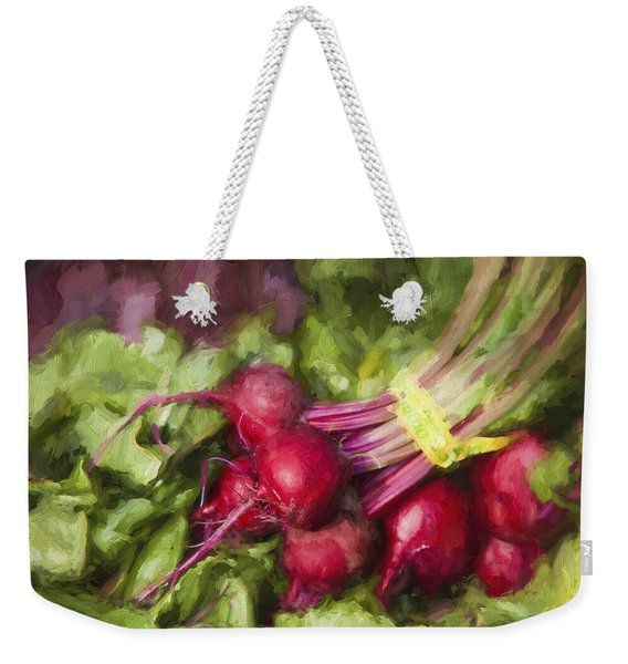 Farmers Market Beets Weekender Tote Bag