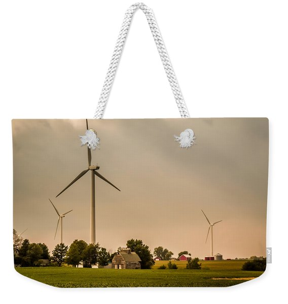 Farms And Windmills Weekender Tote Bag