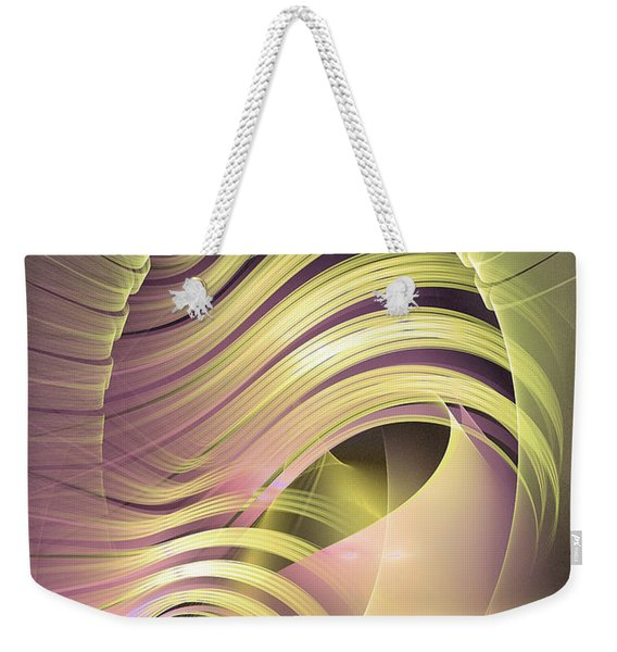 Fascinatio Lucis - Abstract Art Weekender Tote Bag