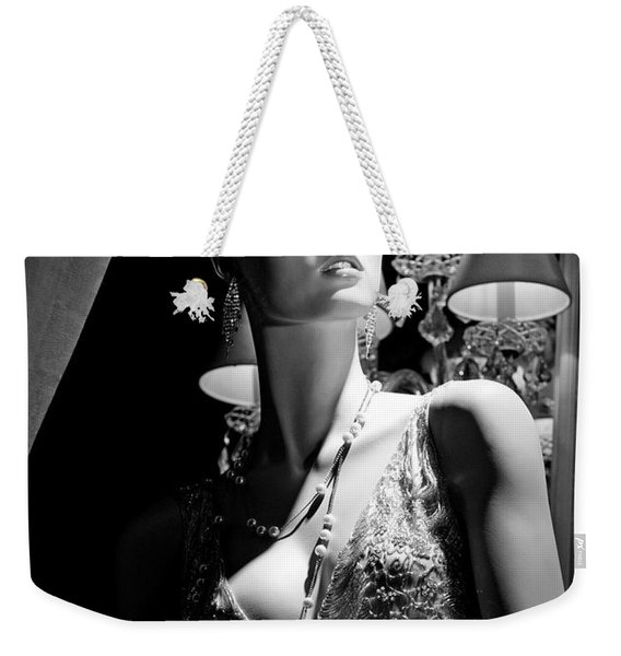Fashionable Lady Weekender Tote Bag