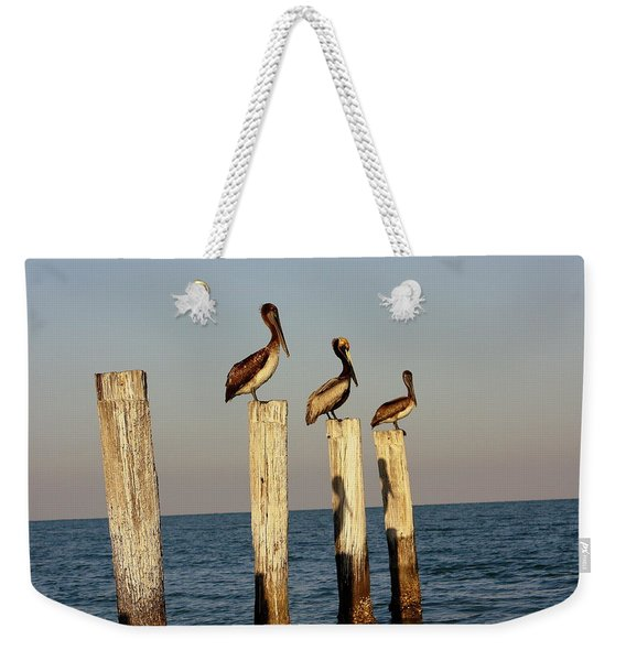 Fashionably Late Weekender Tote Bag