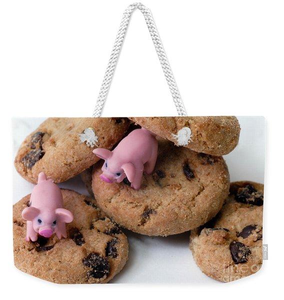 Fat Pigs 2 Weekender Tote Bag