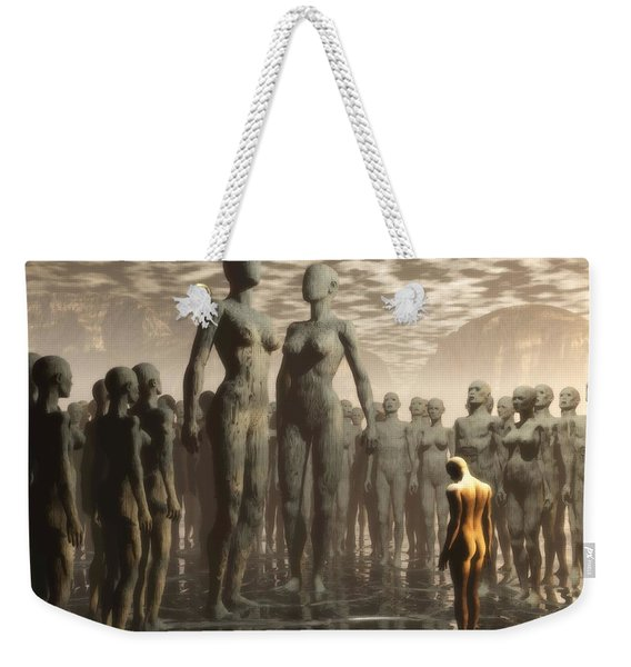 Fate Of The Dreamer Weekender Tote Bag